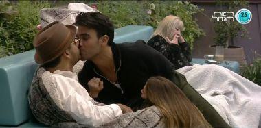 הלם תום חיימוב מנשק את דרור