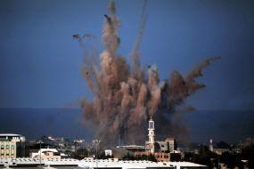 מחבל מעזה הכין פצצה נגד ישראל אבל זה התפוצץ אצלו בבית ונגרם נזק רב ופצועים קשה