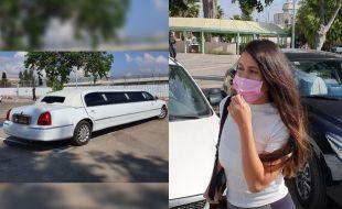 פרסיליה קשתי השתחררה מהכלא בלימוזינה מפוארת אחרי שהפקירה למוות בן 80 שפגעה בו במכוניתה