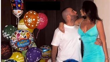 """עומר אדם חגג סופ""""ש מהסרטים בדובאי עם מיס אירופה"""
